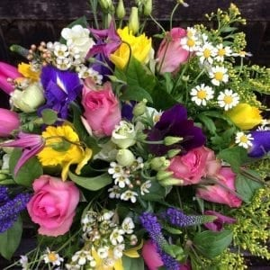 Mothers Day Delight Flower Bouquet Battersea Flower Station Florist London