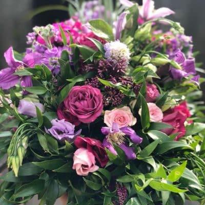 All The Pinks Bouquet Battersea Flower Station Florist London