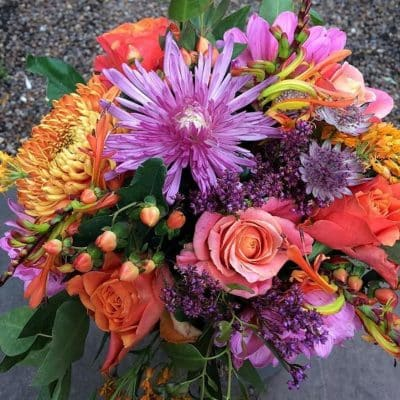 Brights Bouquet Battersea Flower Station Florist London