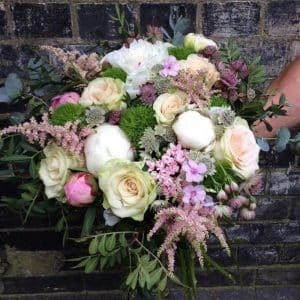 Wild Pastel Bouquet Battersea Flower Station Florist London