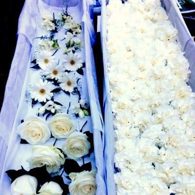 Wedding Hundred Button Holes White Florist London