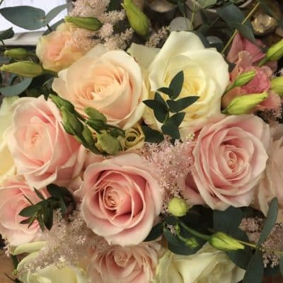 Bridal Bouquet Pastels Battersea Flower Station Wedding Florist London