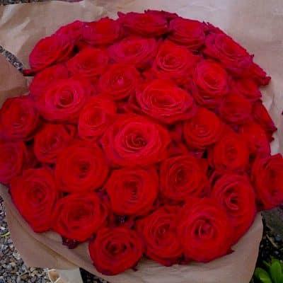 Classic Valentine Roses Battersea Flower Station Florist