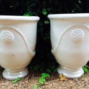 Large Ivory Pot