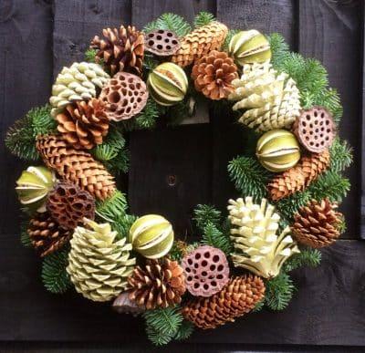 Handmade Fresh Christmas Wreath