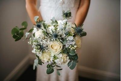 Bridal Bouquet Whites