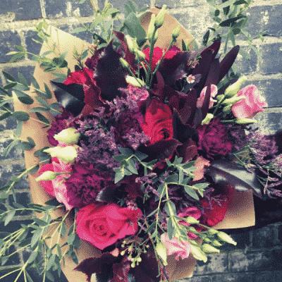 Winter Wonder Flower Bouquet