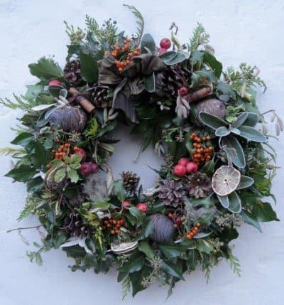 Christmas Wreath Workshop London