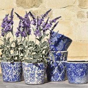 dutch blue pots set
