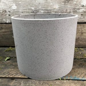 pot taupe round