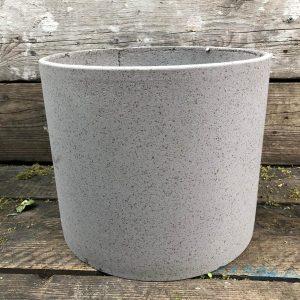 pot taupe round