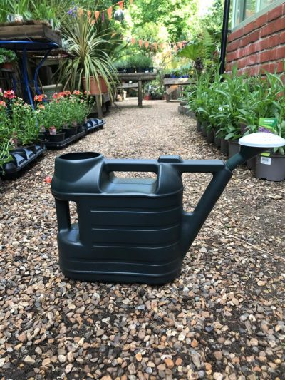 watering can dark green